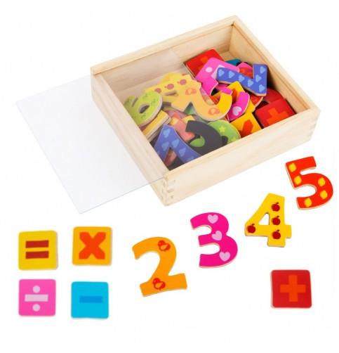 Nombres aimantés Montessori