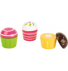 Lot de 3 Cupcakes à...