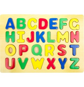 Puzzle alphabet