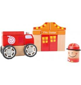 Materiel Montessori : jeu de construction enfant
