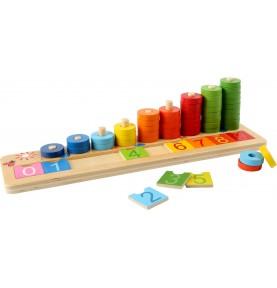 Matériel Montessori : Apprendre à compter et les chiffres