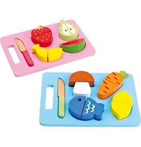 Jouet Montessori : Aliments à découper