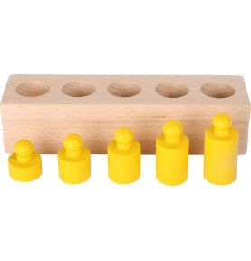 Matériel Montessori - Volumes et poids