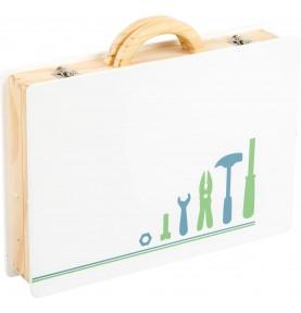 caisse à outils bois jouet - Montessori