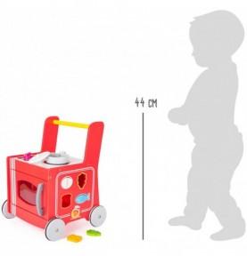 déambulateur bébé : trotteur bois