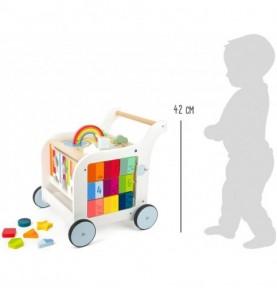 chariot de marche montessori