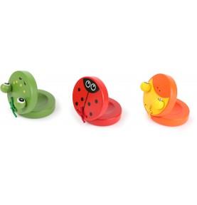 Castagnette : instrument - jouet montessori