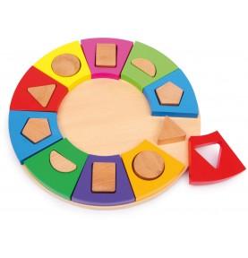 Puzzle géométrique