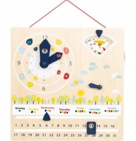 Calendrier-Horloge d'apprentissage