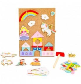 Jouet Montessori - Clou et marteau