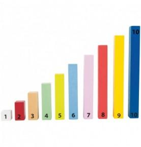 Bâton de calcul : Matériel montessori