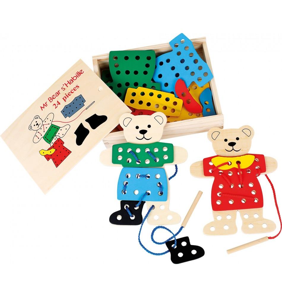 Jeu de laçage : Matériel Montessori