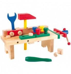 Bricolage enfant : établi enfant