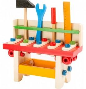 Bricolage enfant : etabli jouet enfant