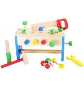 Bricolage enfant : etabli bois enfant