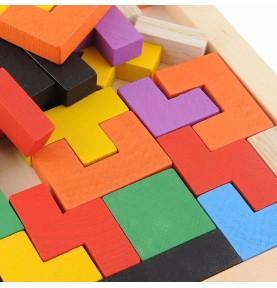 Puzzle Montessori - Puzzle Tetris