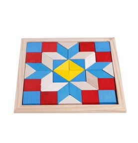 Tangram - Puzzle - Origami - Jouet Montessori