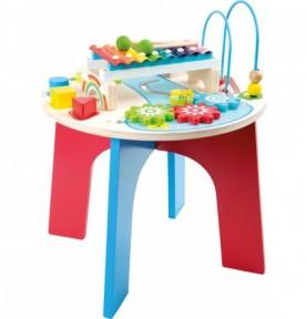 Table de motricité en bois Montessori