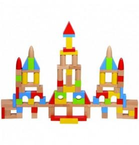 Jouet montessori : Jeu de construction - Classique 100 pièces (Sac)