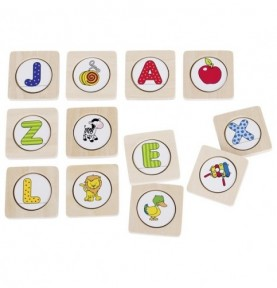 Jouet montessori : Mémori des lettres