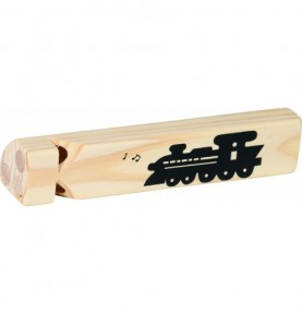 Jouet montessori : Sifflet locomotive