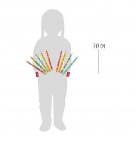 crayon multicolor