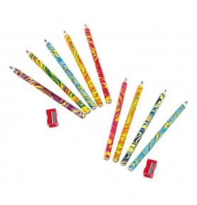 crayon multicolore