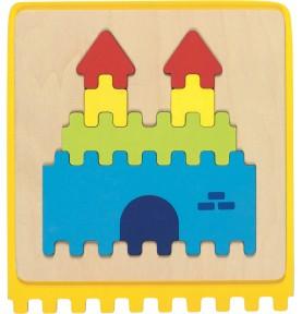 Jouet montessori : Puzzle bébé chateau