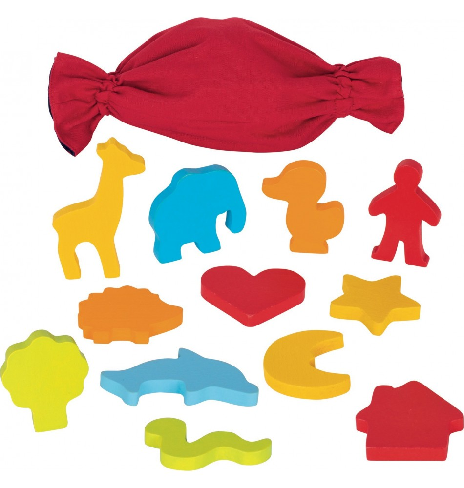 Jouet montessori : Mémori tactile