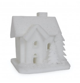 Maison en feutrine illuminée