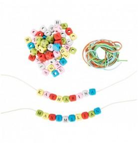 Perles - Lettres Montessori