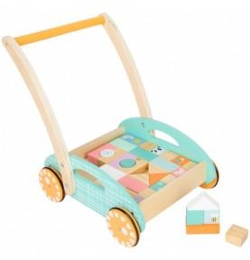 Pousseur - Couleurs pastels Montessori