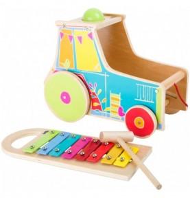 Tracteur xylophone Montessori