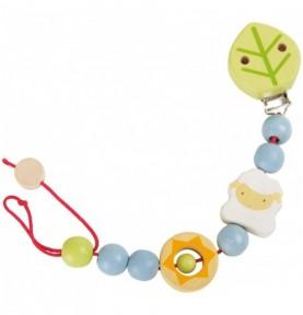 Attache tétine - Agneau Montessori