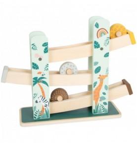 Circuit à roues - Safari Montessori