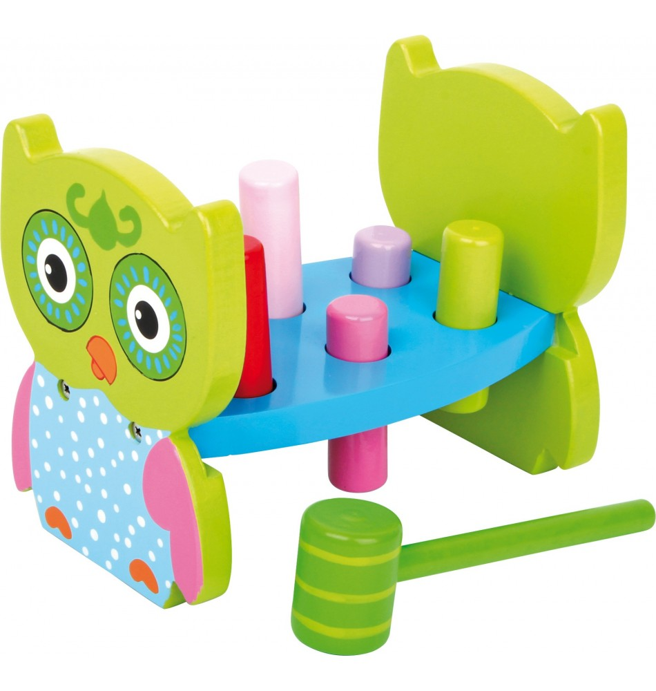 Banc à marteler - Chouette Montessori