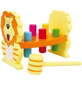 Banc à marteler - Lion Montessori