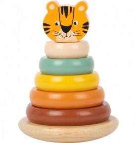 Jeu à empiler - Tigre Montessori