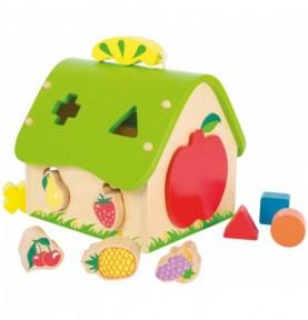 Maison à encastrer - Fruits Montessori