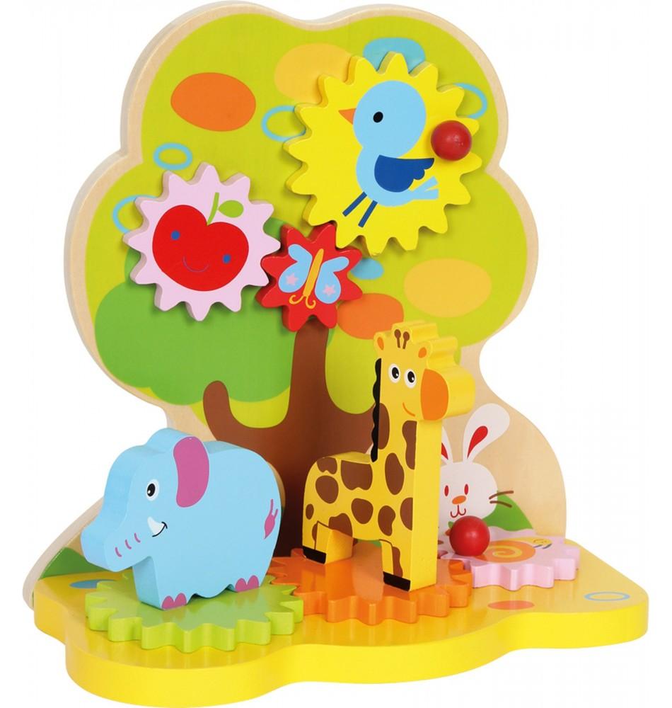 Grand arbre à engrenages Montessori