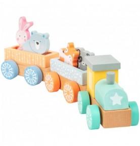 Train - Pastel Montessori