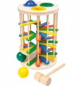 Tour circuit à balles 2 en 1 Montessori