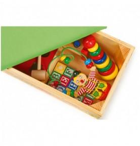 Coffre à jouet - 7 jouets Montessori Montessori