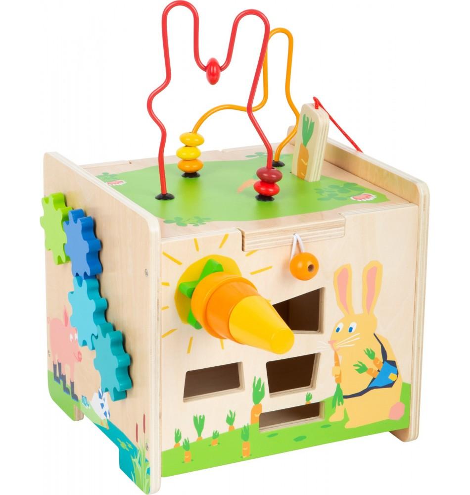 Cube d'activité - Lapin Montessori