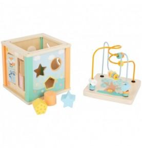 Cube d'activité - Pastel Montessori