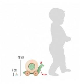 Escargot à promener Montessori