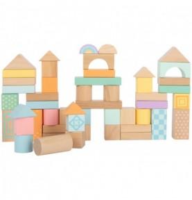 Jeu de construction - Pastel Montessori