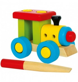 Train à construire Montessori