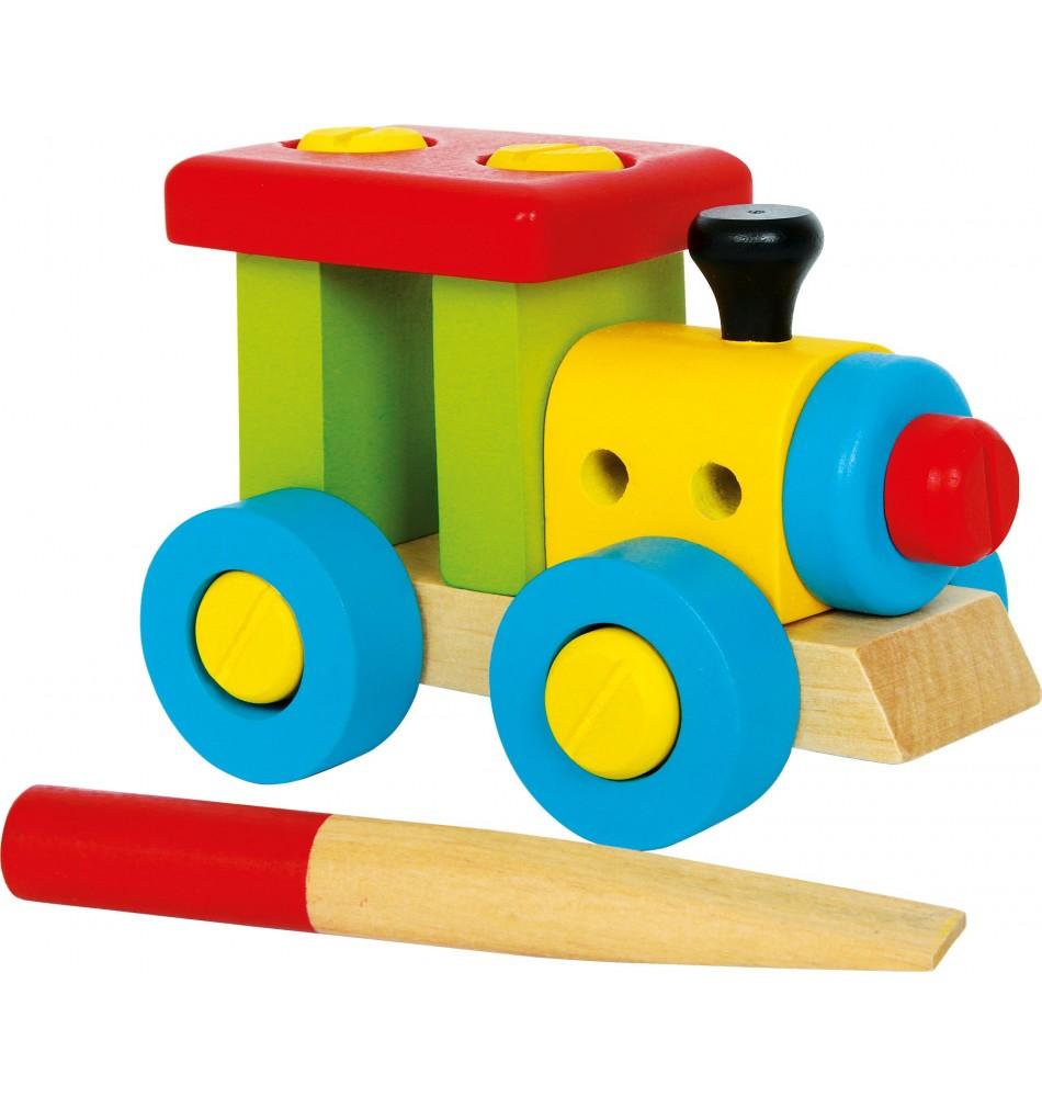 Train à construire Montessori