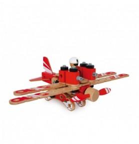Hélicoptère - Jeu de construction 3D Montessori